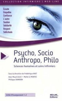 Psycho, socio, anthropo, philo... : Sciences humaines et soins infirmiers