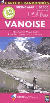 Vanoise : 1/50 000