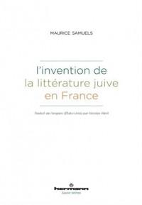 L'invention de la littérature juive en France