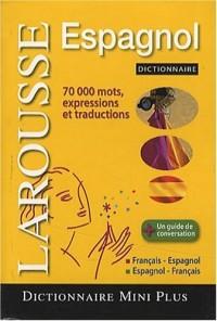 Mini dictionnaire français-espagnol, espagnol-français
