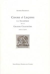 Cours et Leçons à l'Académie de la Grande Chaumière : Tome 2, Leçons