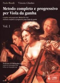 Ut Orpheus BIORDI PAOLO / GHIELMI VITTORIO - COMPLETE AND PROGRESSIVE METHOD FOR VIOL VOL.1 Méthode et pédagogie Cordes Autre cordes frottée