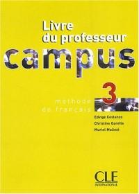Campus 3 : Livre du professeur