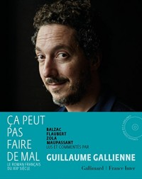 Ça peut pas faire de mal: Le roman français du XIXᵉ siècle:Balzac, Flaubert, Zola, Maupassant lus et commentés par Guillaume Gallienne