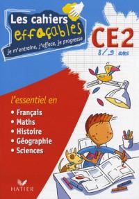 Les cahiers effaçables CE2