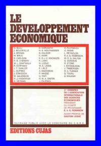 Association internationale de sciences économiques :Le développement économique, 2e Congrès, Vienne, 1962