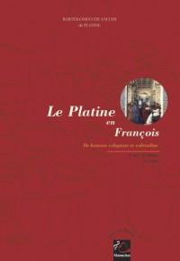 Le Platine en François