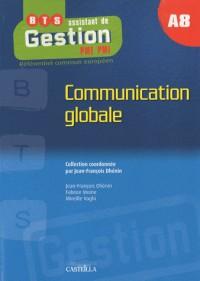 Communication globale BTS assistant de gestion PME-PMI A8