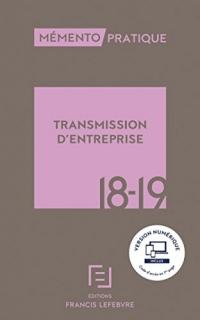 Mémento Transmission d'entreprise 2018-2019