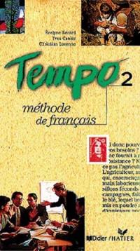 Tempo: Cassette-Audio Du Cahier D'Exercices 2