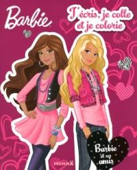 Barbie, Tome 4 : J'écris je colle je colorie