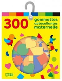 Les gommettes autocollantes: 300 gommettes autocollantes maternelle - De à 5 ans