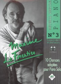 Maxime le Forestier : recueil spécial piano n° 3 + 1cd