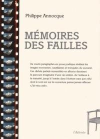 Memoires des Failles