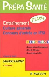 Entrainement culture générale : Concours d'entrée en IFSI