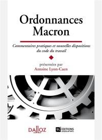 Ordonnances Macron. Nouvelles dispositions et commentaires pratiques - Nouveauté