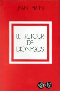 Le retour de Dionysos