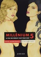 Millenium 5 - La fille qui rendait coup pour coup [Livre audio]