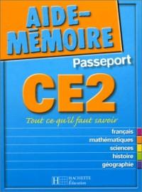 Aide-Mémoire Passeport : CE2 - 8-9 ans