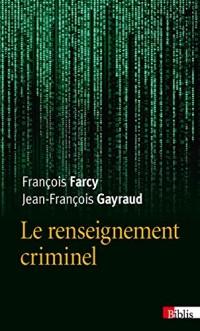 Le Renseignement criminel