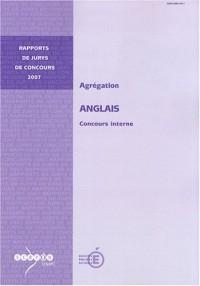 Agrégation Anglais : Concours interne
