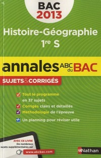 Annales Bac 2013 Histoire/Geographie 1re S Corriges N07