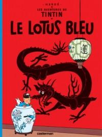 Autour de Tintin le Lotus Bleu