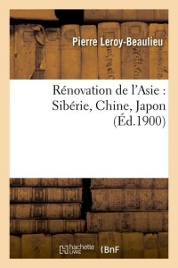 Renovation de l asie  siberie  ed 1900