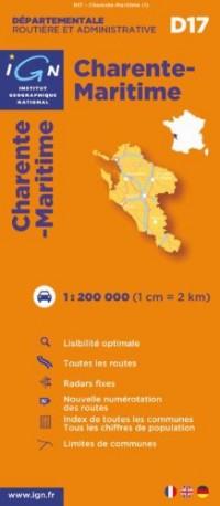 D17 Charente-Maritime 1/200.000