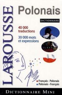 Mini dictionnaire Français-Polonais Polonais Français
