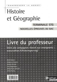 Histoire et Géographie Tle STG : Livre du professeur