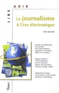 Le journalisme à l'ère électronique