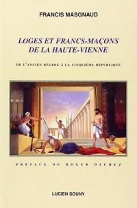 Loges et Francs-Macons de la Haute-Vienne