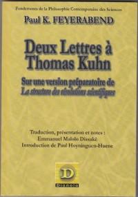 Deux lettres à Thomas Kuhn sur une version préparatoire de la structure des révolutions scientifiques