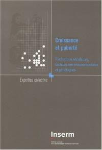Croissance et puberté : Evolutions séculaires, facteurs environnementaux et génétiques