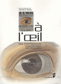A l'oeil : Des interférences textes/images en littérature (1DVD)