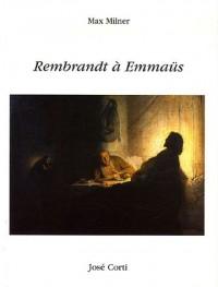 Rembrandt à Emmaüs