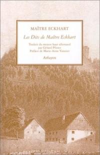 Les Dits de Maître Eckhart