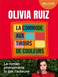 La Commode aux tiroirs de couleurs: Livre audio 1 CD MP3