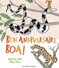 Bon anniversaire Boa!
