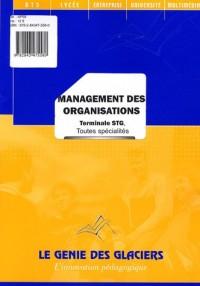 Management des organisations Tle STG toutes spécialités