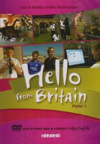 Hello from Britain 6e - 5e DVD + Livret