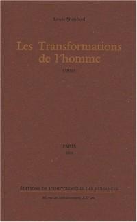 Les Transformations de l'homme : (1956)