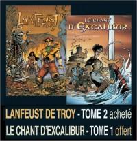 2 BD pour le prix d'1 : Lanfeust de Troy, tome 2 + Le Chant d'Excalibur, tome 1