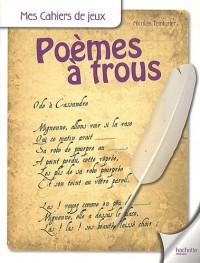 Poèmes à trous