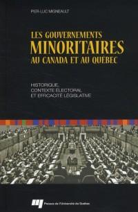 Gouvernements Minoritaires au Canada et au Quebec