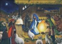 Calendrier de l'Avent l Enfant de Noël Leta