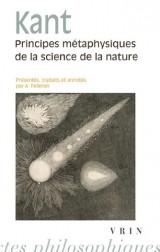 Principes métaphysiques de la science de la nature [Poche]