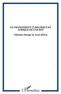 Le changement climatique en Afrique de l'ouest