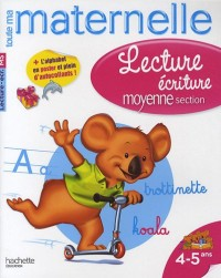 Lecture écriture maternelle moyenne section : 4-5 ans